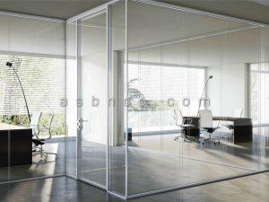 نما شیشه ای داخل ساختمان