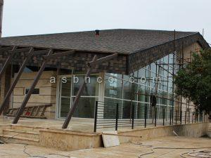 پروژه سیستم درب و پنجره ویلای سیسنگان