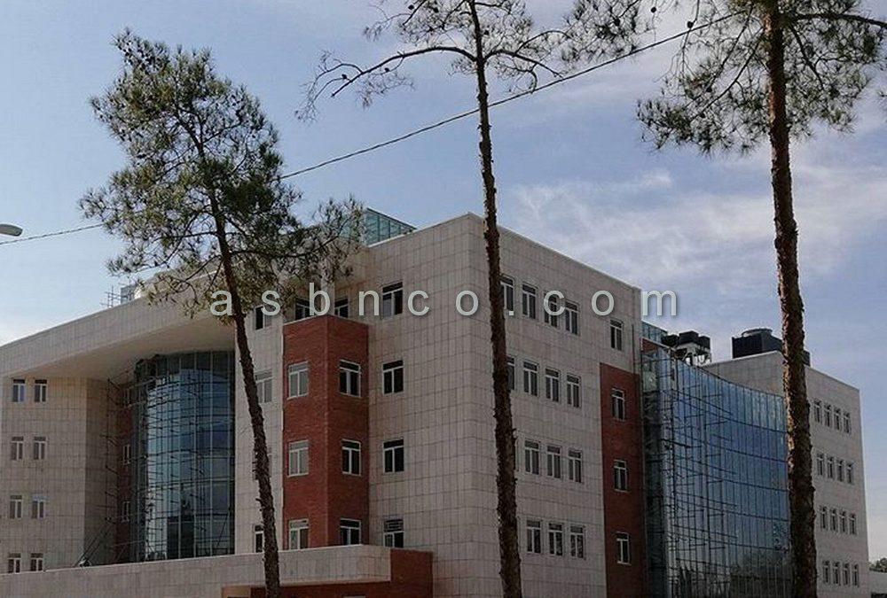 پروژه نمای شیشه ای ساختمان مرکزی شهرداری کرمان