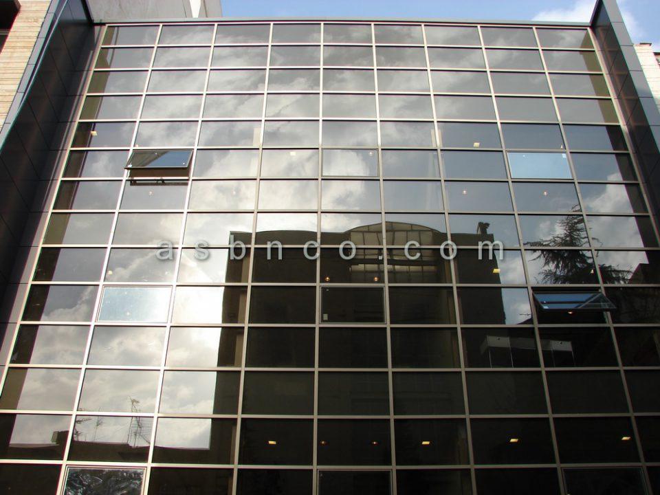 پروژه نمای شیشه ای شرکت سونی خیابان گاندی