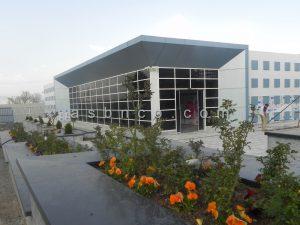 پروژه نمای شیشه ای مرکز آیلتس کرمانشاه