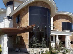 پروژه نمای شیشه ای خانه دریا