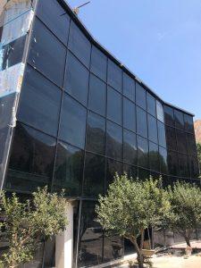 پروژه نمای شیشه ای خلخال - مرکز تفریحی سیاحتی