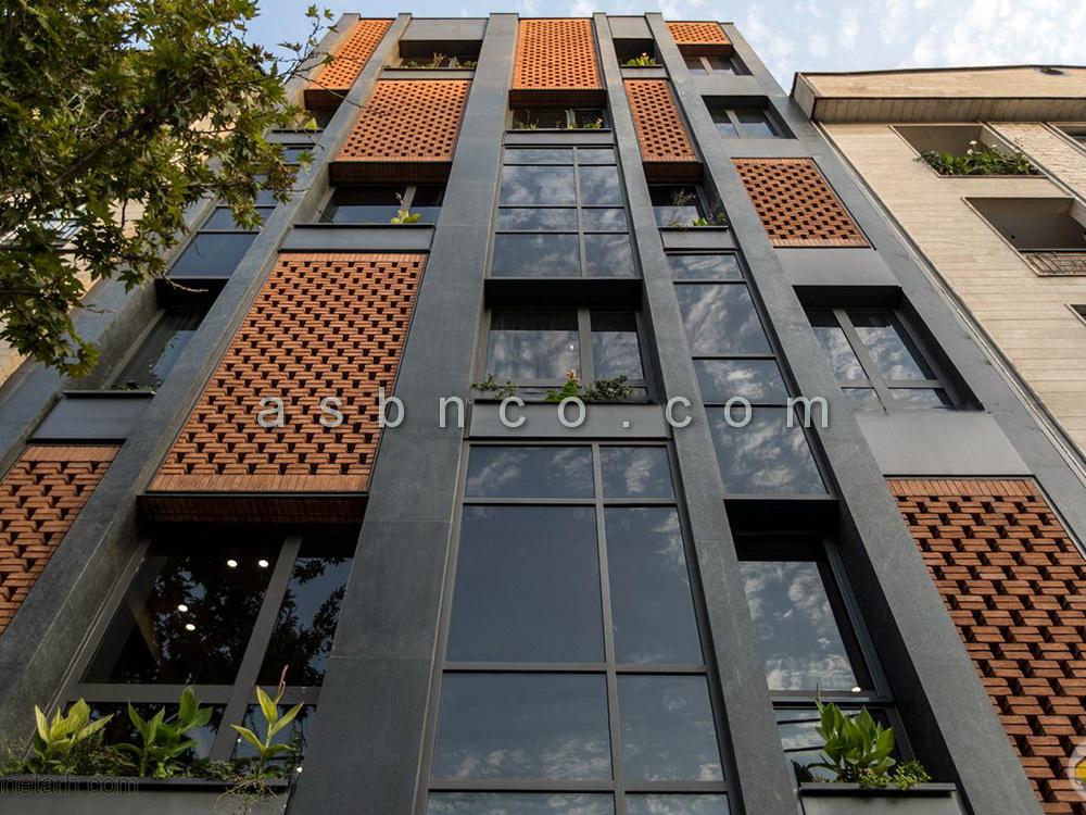 طراحی نمای ساختمان در تهران