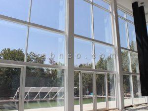نما شیشه کرتین وال