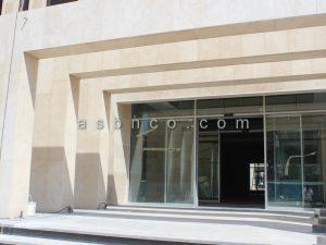 پروژه درب و پنجره ساختمان اداری ایز ایران