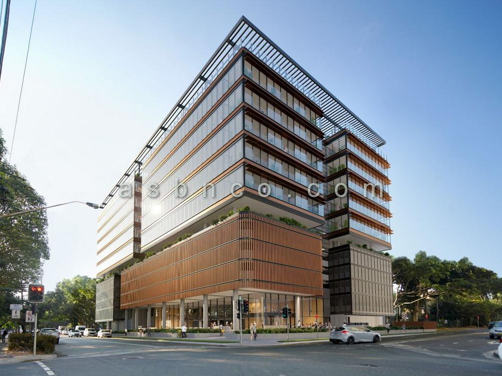 بازسازی نمای ساختمان اداری