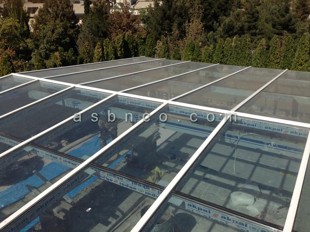 پروژه سقف شیشه ای خیابان خوارزم