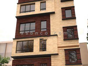 اجرای نمای ساختمان