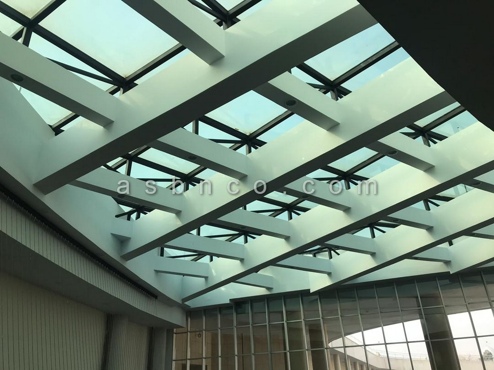 اجرای سقف شیشه ای