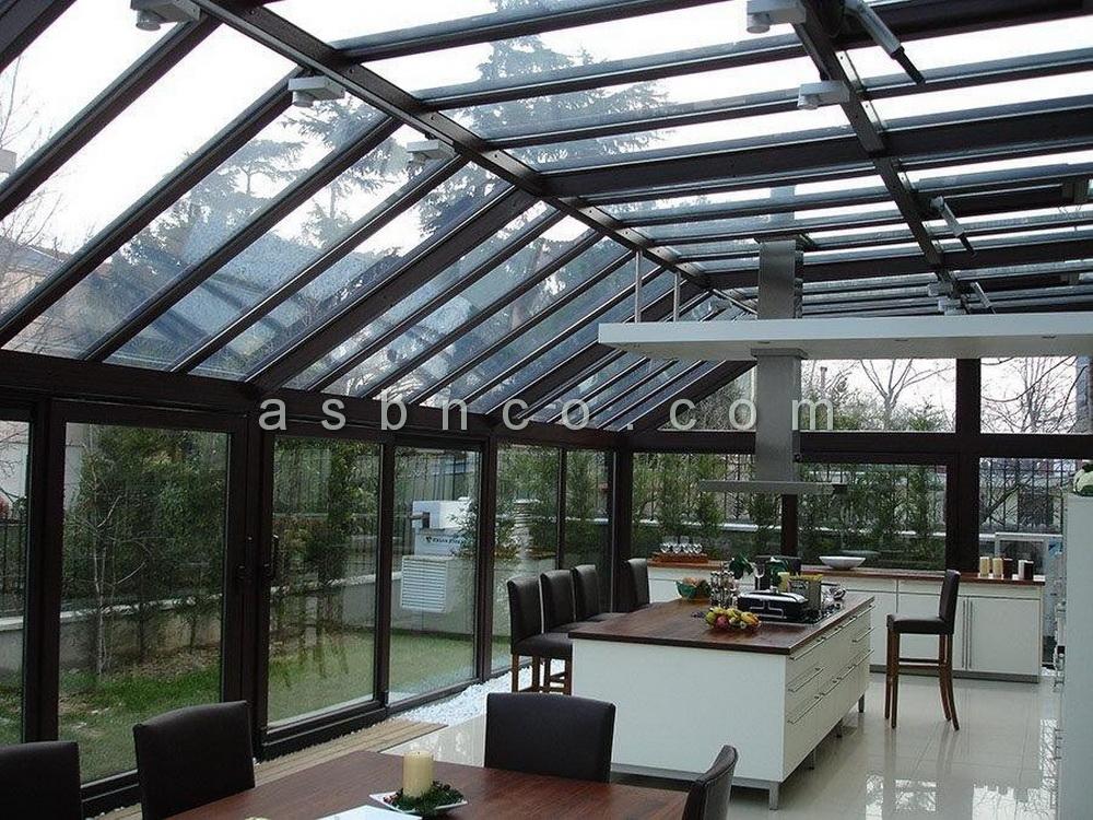 نصب سقف شیشهای